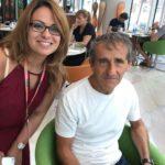 Alain Prost & Sihem Souid