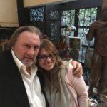 Gérard Depardieu & Sihem Souid