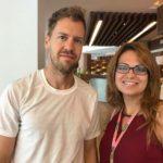 Sébastien Vettel & Sihem Souid