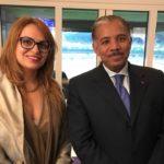 Son Excellence Abdulrahman Al-Khulaifi & Sihem Souid