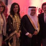 S.E. Sheikh Ali Al Thani & Sihem Souid