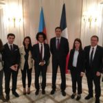 Typhanie Degois, Bertrand-Sorre, Pierre-Alain Raphan, Rahman Mustafayev, Naïma Moutchou, Aude Amadou et Sihem Souid