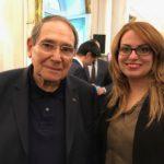 Robert Hossein & Sihem Souid