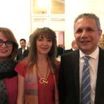 Son Excellence Abdellaziz Rassaa - Ambassadeur de Tunisie en France, son épouse & Sihem Souid