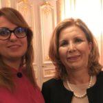 Selma Elloumi Rekik - Ministre du tourisme de la Tunisie, & Sihem Souid