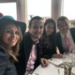 Sihem Souid & Naima Moutchou au Qatar Prix de l'Arc de Triomphe 2018